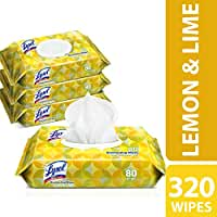 320-Count Lysol Handi-Pack Disinfecting Wipes (Lemon & Lime Blossom)