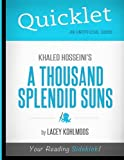 Quicklet - Khaled Hosseini's A Thousand Splendid Suns