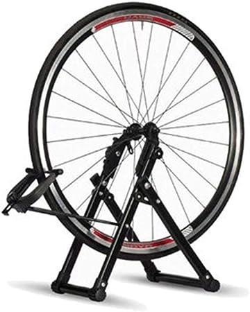 NBRTT Soporte para Ruedas de Bicicleta, Mantenimiento Profesional Bicicletas cyclingdeal, mecánico Plegable el hogar Adecuado Herramientas Llantas Garaje Interior Uso: Amazon.es: Hogar