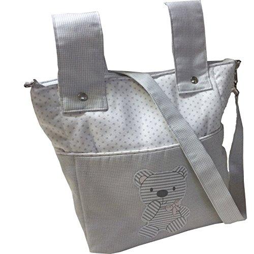 bolso bebe carro bandolera osito gris: Amazon.es: Handmade