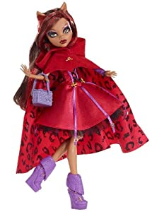 monster high scarily ever after clawdeen wolf 12 inch doll exclusive red - Clawdeen Wolf Halloween Costume