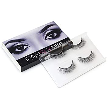 972e12a6d2e Amazon.com : gLoaSublim Fake Eyelashes, 2Pairs Natural Handmade Synthetic  Fiber Faux Eyelashes Thick Long Lash Extension 10 : Beauty