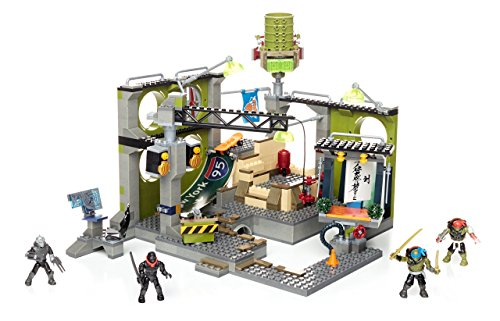 Mega Bloks Teenage Mutant Ninja Turtles Sewer Hideout Construction Set from Mega Bloks
