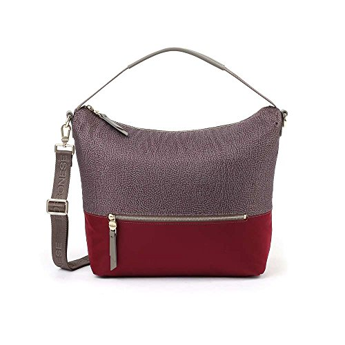Borsa Borbonese Bordeaux in Nylon