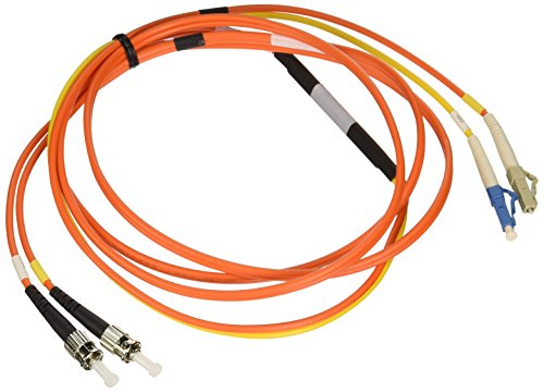 Patch Conditioning Optic Cable Fiber (Tripp Lite Fiber Optic Mode Conditioning Patch Cable (ST/LC), 2M (6-ft.)(N422-02M))
