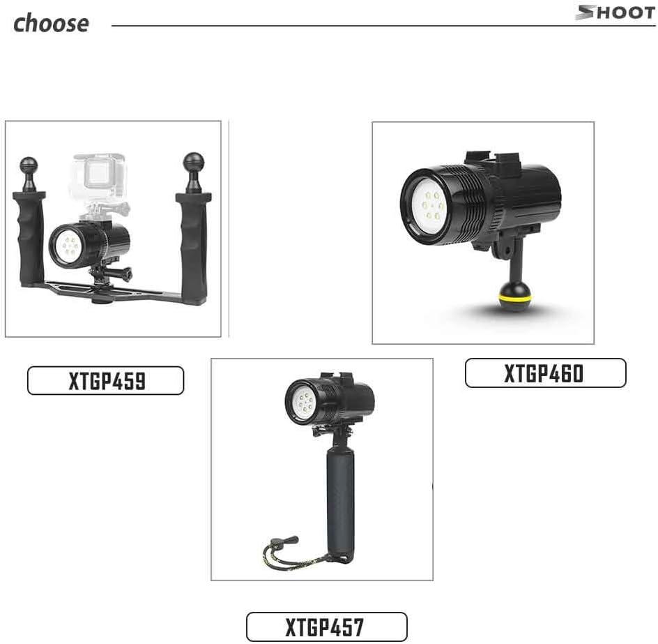 Camera Accessory Shoot Waterproof LED Diving Light for Gopro Hero 7 6 5 4 h9 SJCAM SJ4000 Underwater Flashlight for Yi Lite 4K