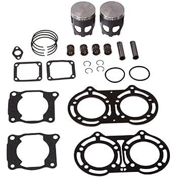 Amazon Com Vertex Vtk23607150 Cast Long Rod Top End Piston Kit