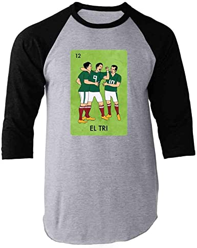 I Love Mexico Unisex Toddler Baseball Jersey Contrast 3//4 Sleeves Tee