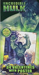 The Incredible Hulk Valentines with Free Poster