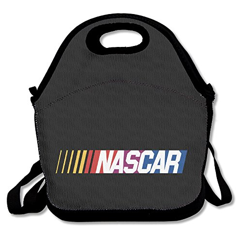 NASCAR LOGO CAR Lunch Box Bag For Kids And Adult,lunch Tote Lunch Holder With Adjustable Strap For Men Women Boys Girls,This Design For Portable, Oblique Cross,double ()