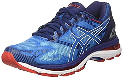 Asics Gel-Nimbus 19, Zapatillas de Running Hombre, Azul (Diva Blue/White/Indigo Blue), 39 EU