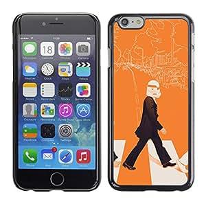 LECELL--Funda protectora / Cubierta / Piel For iPhone 6 -- Arte Lennon Storm Trooper Pop --