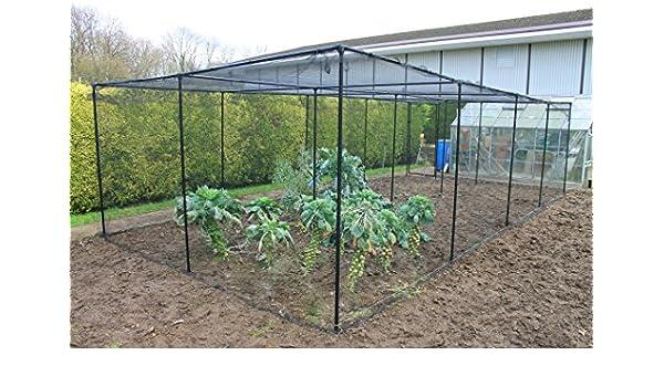 Premium frutas y vegetales jardín jaulas - sólido negro Metal ...