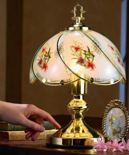 Collections Etc Hummingbird Desk Touch Lamp by Collections Etc (Image #1)'