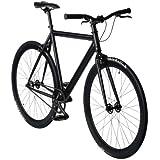 """bonvelo Singlespeed Fahrrad Blizz """"Back to Black"""" (Large / 56cm für Körpergrößen von 170cm bis 181cm)"""