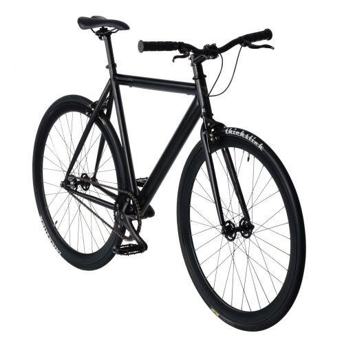 bonvelo Singlespeed Fahrrad Blizz Back to Black (Small / 50cm für Körpergrößen von 151cm bis 162cm)