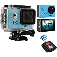 niceEshop(TM) 4K HD Wifi Action Camera 2.0 Inch 170 Degree Wide Angle Lens Action Camera WIFI 4k Waterproof Sports Action Camera, Blue