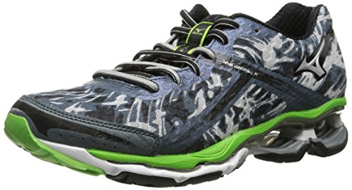 Mizuno Hombre Wave Creation 15 Zapatilla de Running Slate / Green / Charcoal