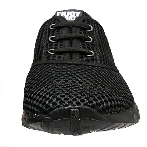 Water Aqua Black Women's Shoes black Drying Quick Aleader S4InYtq
