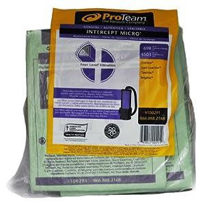 Pro Team Genuine Intercept Micro Filter Vacuum Bags