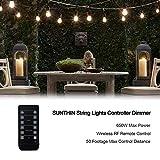 SUNTHIN 650 Watts Outdoor String Lights