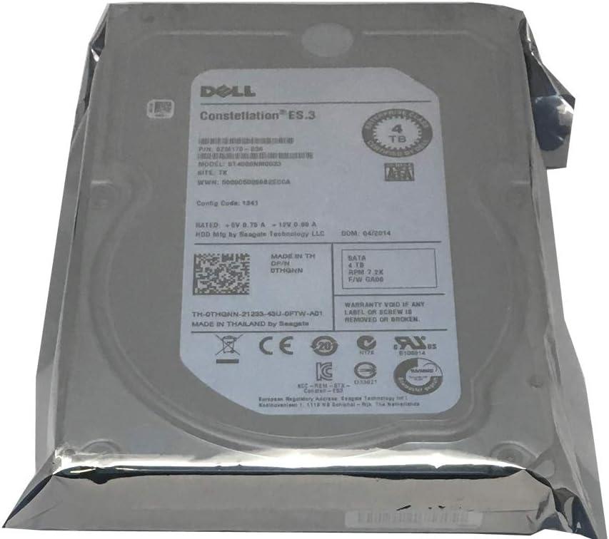 """HP//Seagate ES.3 ST4000NM0033 4TB 128MB 7200RPM 3.5/"""" SATA 6.0GB//s Enterprise HDD"""