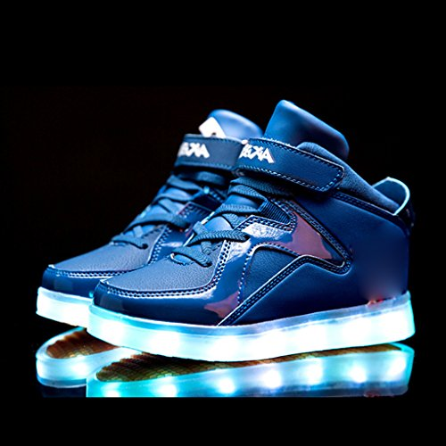 Der Blinken Leuchtende 32eu 7 Schuhe Größe Farben Freizeitschuhe ladesportschuhe Kinder Usb Spinne P54I4gnW