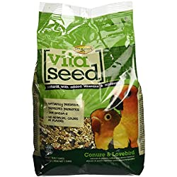 Vita Seed Conure And Lovebird Food Bag 2.5 Lb.