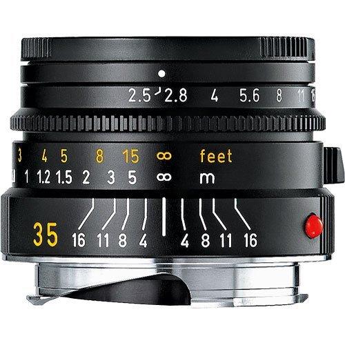 Leica Optical Camera Lens (Leica 35mm / f2.5  Black (E39))