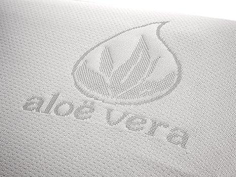 Sistema Air-Fresh Naturalex Confort Spa| Materasso Singolo 70x190 cm Memory e Lattice| Multi Zona Effetto Rinfrescante Adattamento Supriore Schiuma Termosensibile Alta Traspirabilit/à