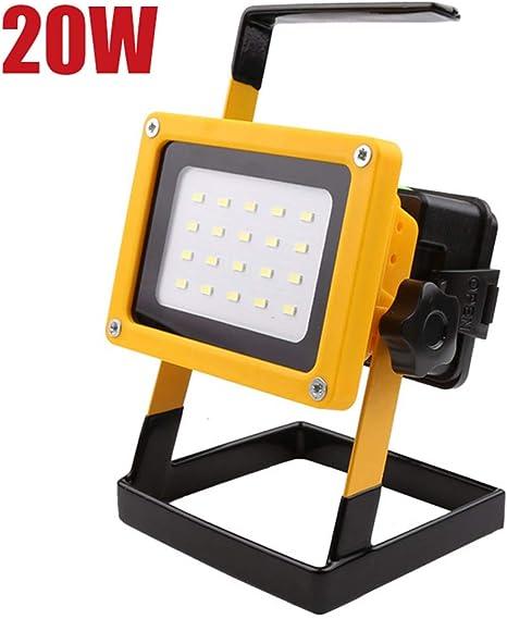 JZWDMD 20W LED Iluminación para Exteriores Lámpara de luz de ...