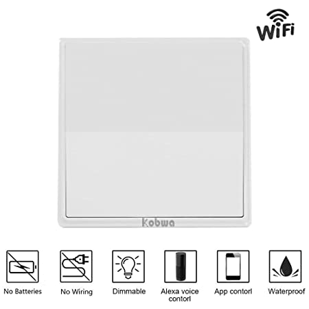 kobwa wireless dimmer lights switch, self powered kinetic wall house wiring lights in series kobwa wireless dimmer lights switch, self powered kinetic wall switch transmitter, no wiring