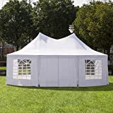 Outsunny 22' x 16' Large UV Resistant Octagonal