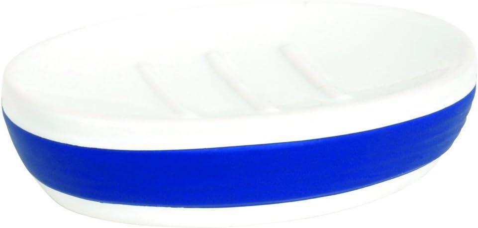 Color Azul MSV 141169-1975///de cer/ámica Moorea jabonera