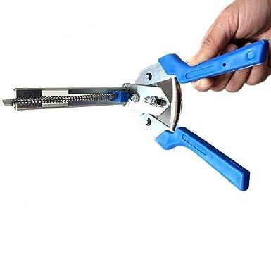 Hog Ring Plier Tool con 600/pz clip m clip filo riparazione manuali utensili a mano per recinzioni gabbia di pollo in rete gabbia recinzione a crimpare saldatura saldatura comune
