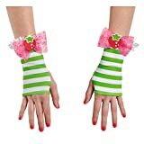 Disguise Women's Strawberry Shortcake Adult Costume Glovettes