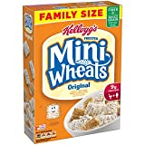 Kellogg's Frosted Mini Wheats Original Breakfast Cereal, Family Size, 24 Ounce Box