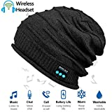 HighTechLife Upgraded Wireless Bluetooth Beanie Hat Headphones V4.2 Unique Valentine Gifts for Girlfriend/Wife/Women Men/Husband/Boyfriend w/Built-in HD Stereo Speakers & Microphone