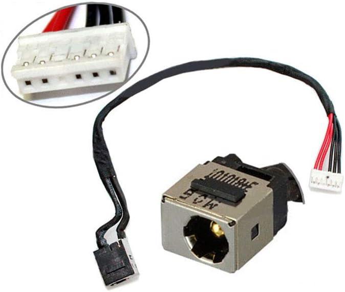 Compatible for Lenovo IdeaPad Y560 Y560A Y560P AC DC Jack Harness Cable Wire Socket