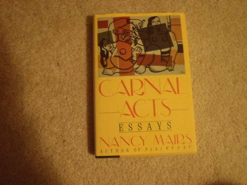 0060164948 - Nancy Mairs: Carnal Acts: Essays - Buch