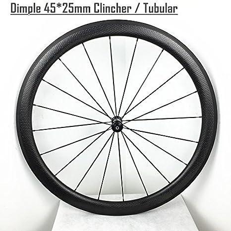 DK - Rueda de Carbono para Bicicleta (700 cx25 mm, 700 C): Amazon ...