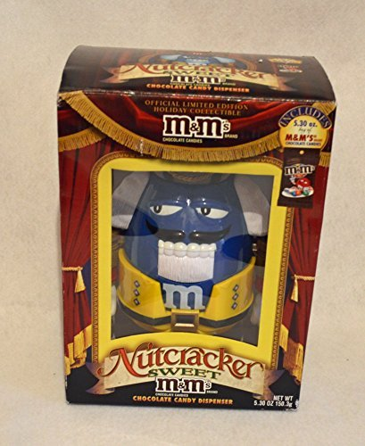 M&M's Nutcracker Sweet Candy Dispenser Limited Edition