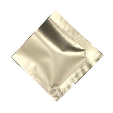 Amazon.com: Durable Pure Mylar bolsa de muestra de sellado ...