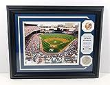 Highland Mint Yankee Stadium Photo with Pin and Derek Jeter Coin Framed DA025105
