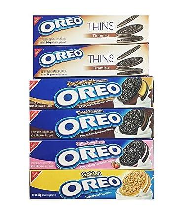 Amazon Com Oreo Sandwich Cookies Set Chocolate Cream 100g X1