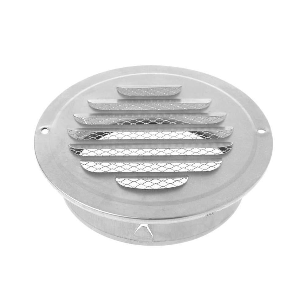 Cucina E Ventilatori In Acciaio Inox 150mm Con Montaggio A Parete Per Bagno Per Bocchette Di Scarico Griglia Di Ventilazione A Sfera