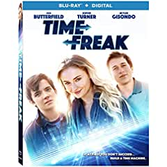 Time Freak arrives on Blu-ray, DVD, and Digital January 8 from Lionsgate