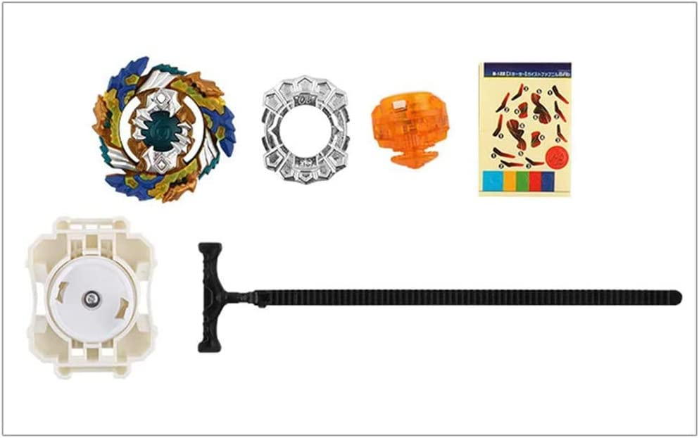 POFET Gyro Burst Wrestling Masters Devouring Dragon Fusion Spinning Top Spinning Top Gyro and Plastic Launcher Speedy Toy and Gifts Interesting for Kids B-122