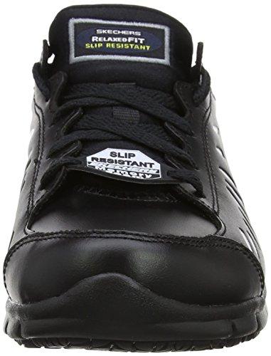 Eldred de Sécurité Skechers Noir Chaussures Femme vqdEzEA