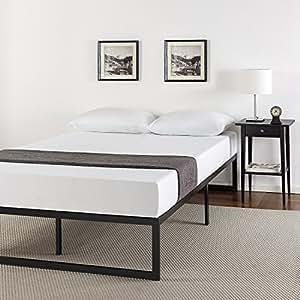 Amazon Com Zinus 14 Inch Metal Platform Bed Frame With